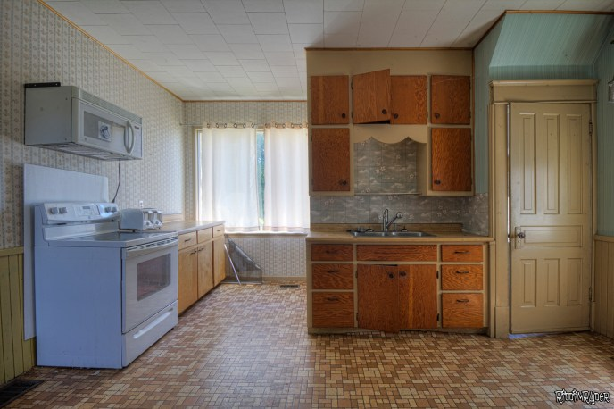 Abandoned Homestead Kitchen