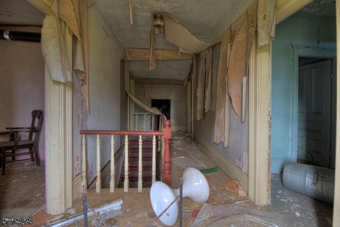 Abandoned House Hallway