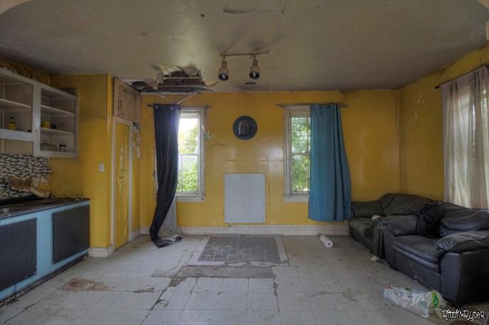 Decayed Kitchen