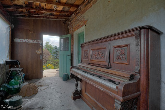 Back Porch of the Abandoned House