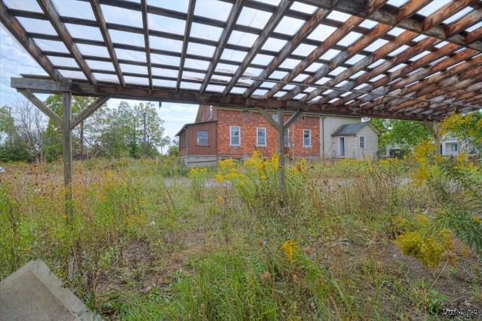 Outside the Abandoned Grow OP