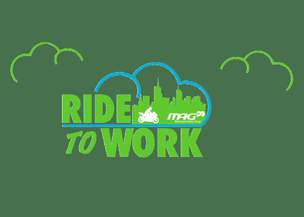 MAG Ride To Work Day logo