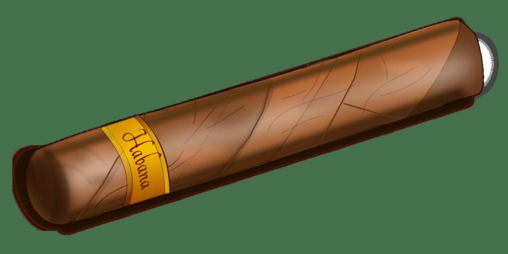 Cigare : ceci est un cigare. Enfin un dessin de cigare.