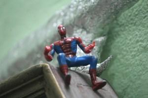 Comics Marvel : une Figurine de Spider-Man