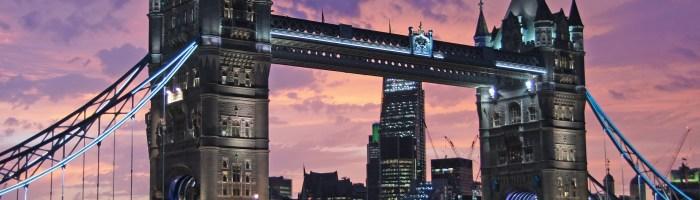 Coucher de soleil à Londres - la ville qui a inspiré le nom du groupe d'Hannah Reid : Londo Grammar