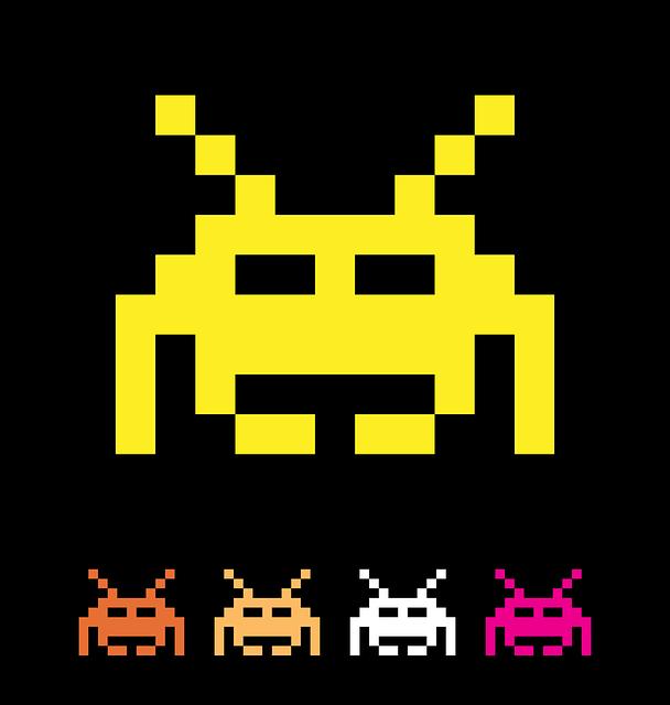 Capture d'écran du jeu vidéo Space Invaders