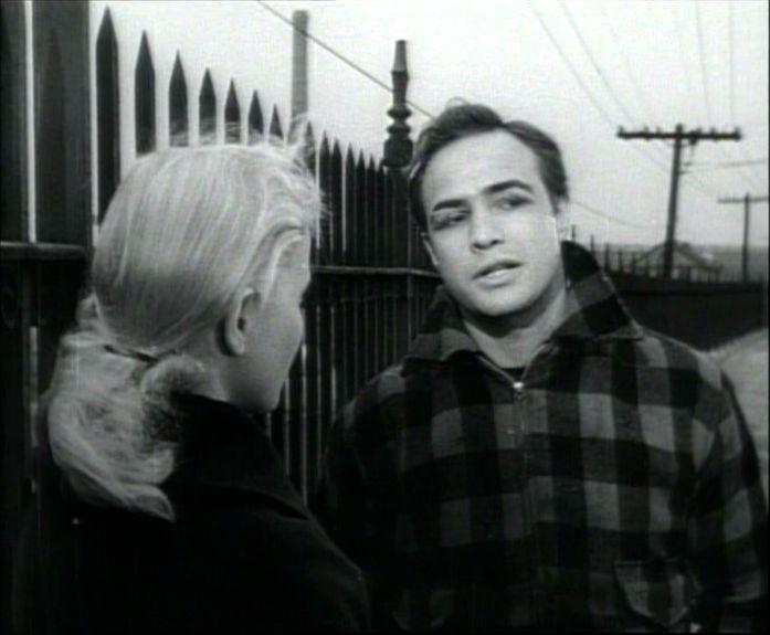 Marlon Brando et Eva Marie Saint