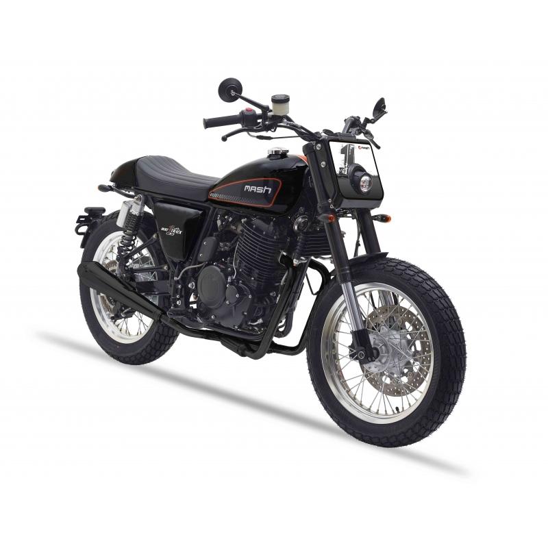 Motos Customs : la très belle Mash 650 Dirt Track de Mash Motors