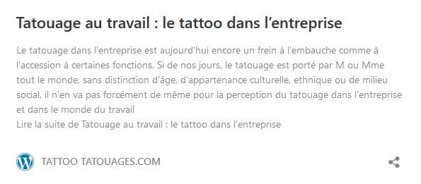 Faut-il se faire tatouer ? La question de l'acceptation sociale du tatouage dans le monde de l'entreprise