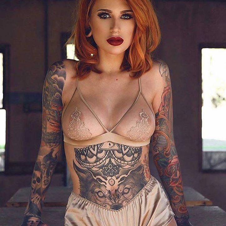 Faut-il se faire tatouer ? Pour obtenir un tel résultat, j'ai bien envie de répondre « oui »