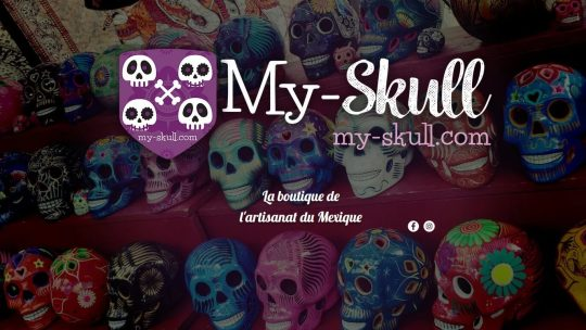 Décoration Vintage : lampe My-Skull
