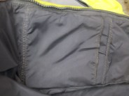 Standard Roadcrafter sewn in pouch for armor.