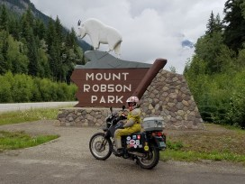 Outside Mount Robson Park. Mount Robson being the highest peak in British Columbia.