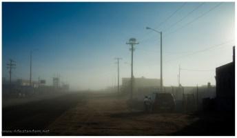 Morgenlicht in Guerrero Negro