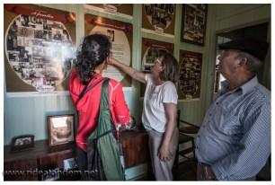 Und weil halb Taquaras der Famile gehört, haben die auch ein Mini-Privatmuseum. Gerne wird alles erklärt, teilweise sogar auf deutsch.