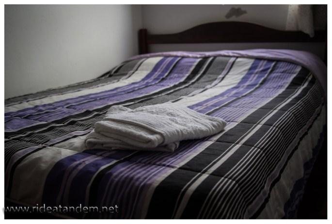 Unser Bett, nicht verkehrt und besser als gedacht