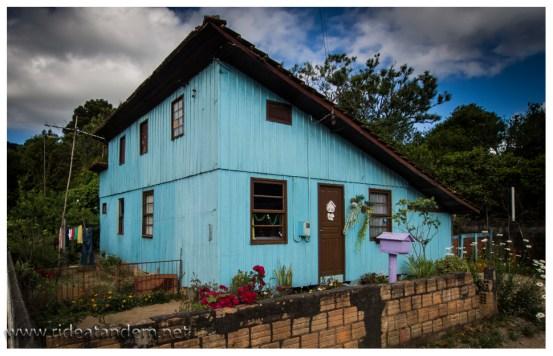 Noch ein typisches Haus für Rancho Queimado und Umgebung