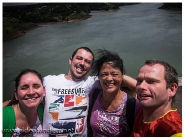 Der Parana, Grenzfluss zwischen Paraguay und Brasilien.