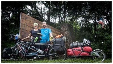Wirklich kein gelungenes Bild, aber ein besseres Abschiedsbild vom Iguazu-Nationalpark gibt es nicht. Zudem ist es der Beginn einer heissen Phasen