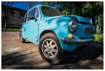 """Wahnsinn wie klein der Fiat 600 ist. Hätte gerne mal """"Probe""""-gesessen."""