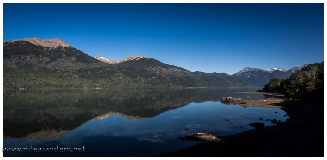 Unser Abschieds-See zeigt sich von der besten Seite. Schöner NP der einen Abstecher definitiv lohnt.