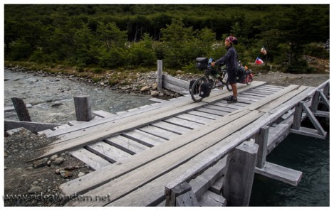 Der Weg ist gut, die Brücken auch.