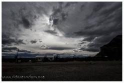 Wie gesagt, der patagonische Himmel