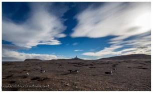 Mondlandschaft, für Pinguine ein Traum