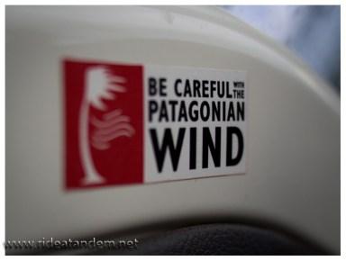 Der patagonische Wind immer eine Beachtung wert.