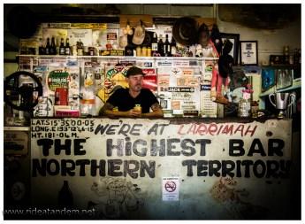 Outback Pub und der Flair der 30er Jahre wird gepflegt
