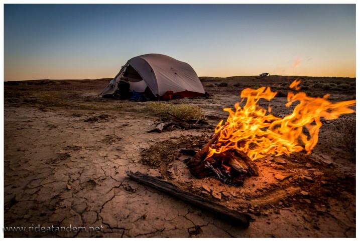 Abends im Outback, kurz vor Abendbrot