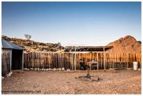 Dieser Campingplatz ist wirklich besonders, es besteht nur aus einem Stellplatz und wir waren somit komplett alleine.