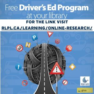 Driver's Ed Program at your library link