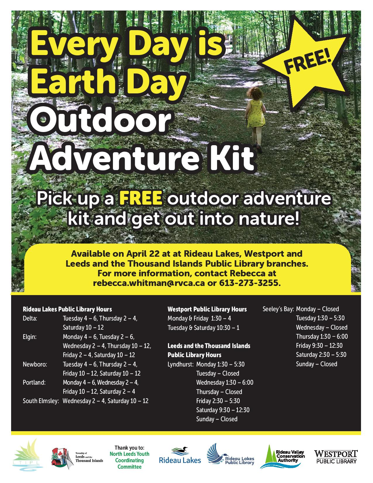 Foley Spring Outdoor Adventure Kit - Earth Day