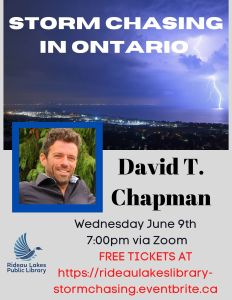 Storm chasing in Ontario Click to register