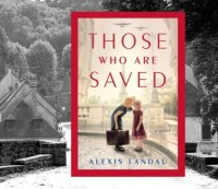 Those who are saved by Alexis Landau book cover