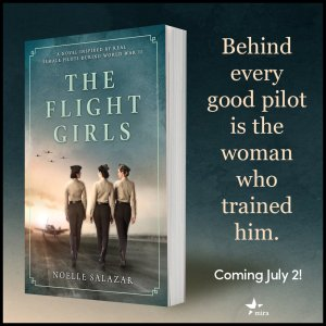 The Flight Girls by Noelle Salazar book cover