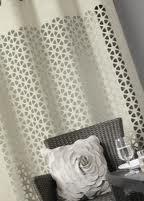 rideau blanc decoupe laser