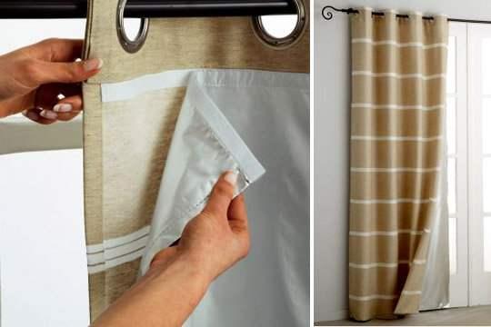 Le choix d'un rideau thermique – Ses matériaux