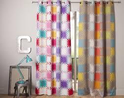 Les rideaux à motifs