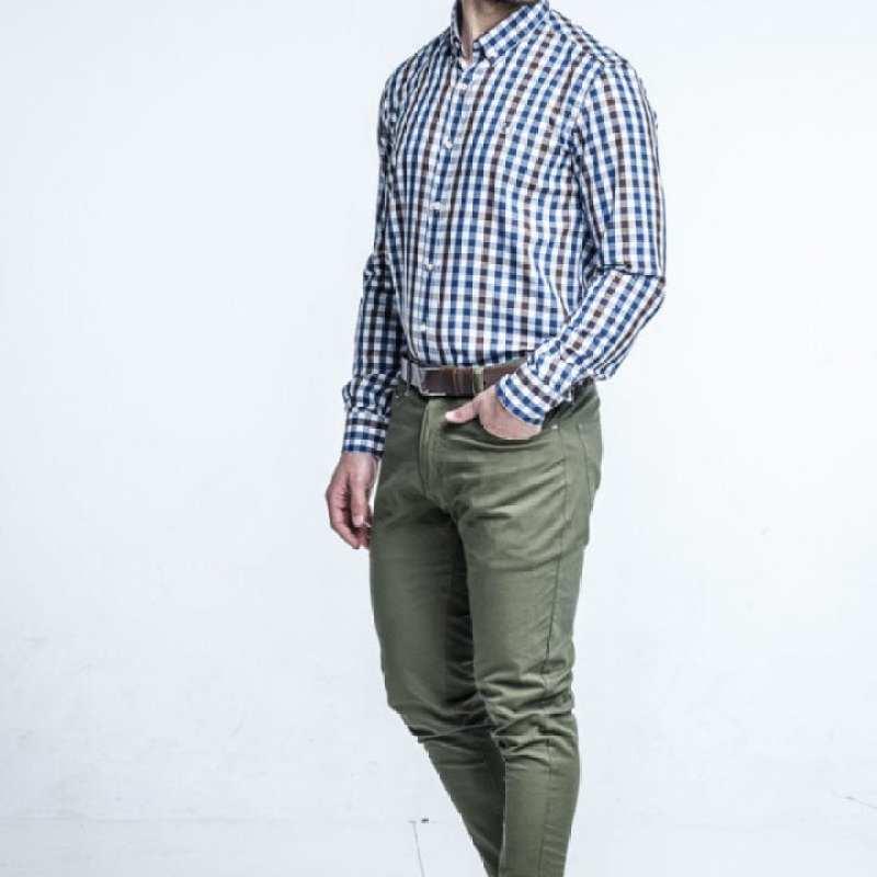 Pantalón loneta bolsillo vaquero [+3 colores]
