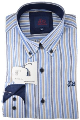 Camisa Oxford Rayas de Niño