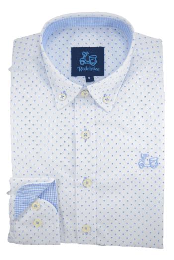 Camisa niño estampada