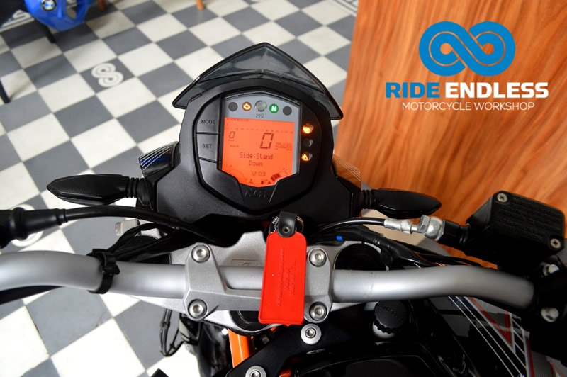 Moto KTM 2016