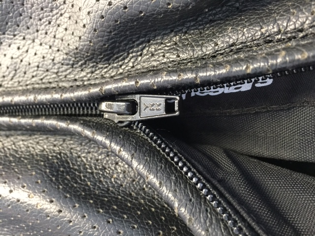 Replacing your zipper on your motorcycle gear