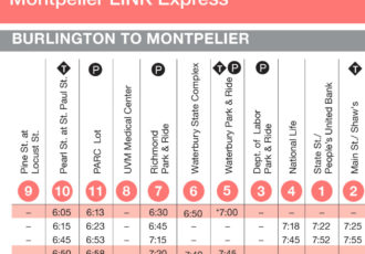 Image result for commuter bus burlington to montpelier
