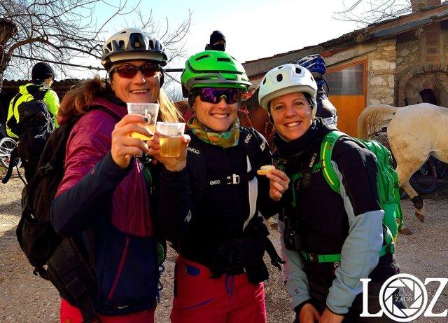 Donne in bici e degustazione miele e tè caldo presso Apicoltura Lazzarina sui Colli Berici