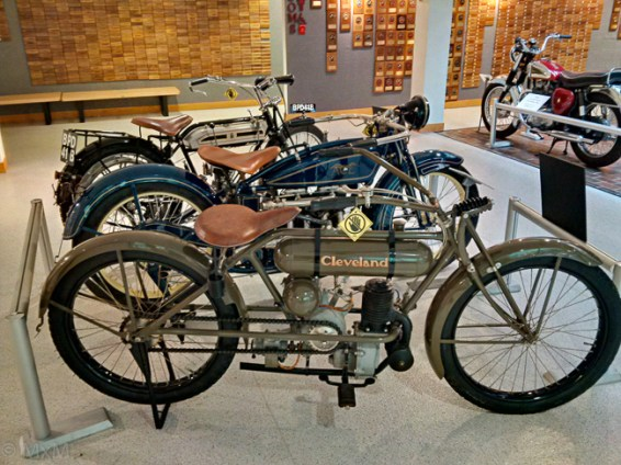 The famous Cleveland motorbike (I'd never heard of)!