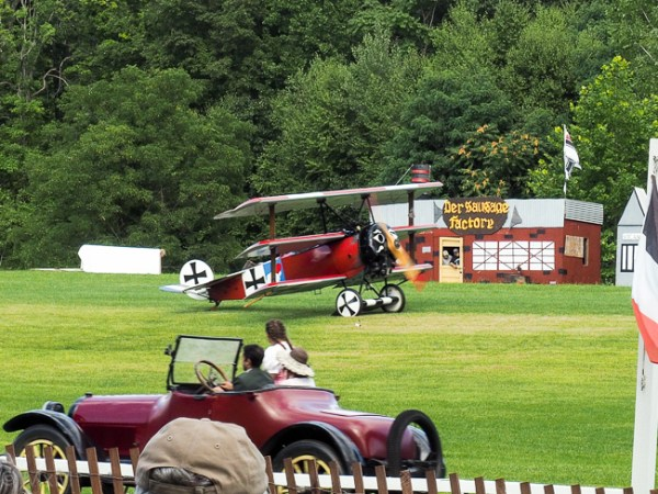 A little bit of Rhinebeck aerodrome