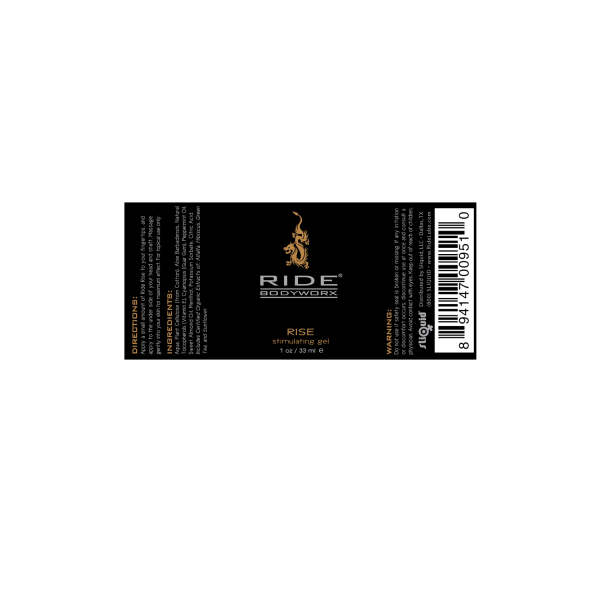 Ride BodyWorx Rise - Label Graphic